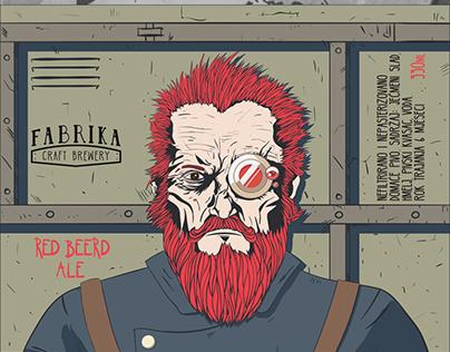 Beer Label Illustration