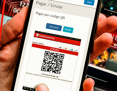 Cines Unidos nuevo método de pago ágil, rápido y seguro