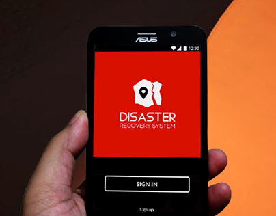 Disaster Recovery System mobile app