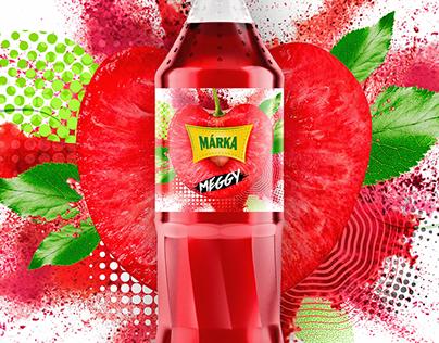 MÁRKA soft drink - Packaging - 2017