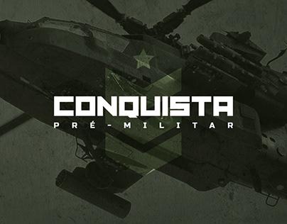 Id. Visual + Apresentação | Conquista Pré-Militar