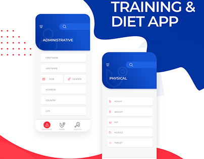 training and diet for ios and andriod ui