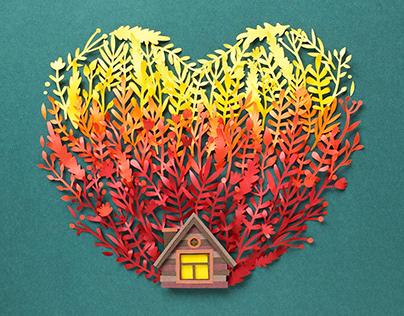 Home   Paper art