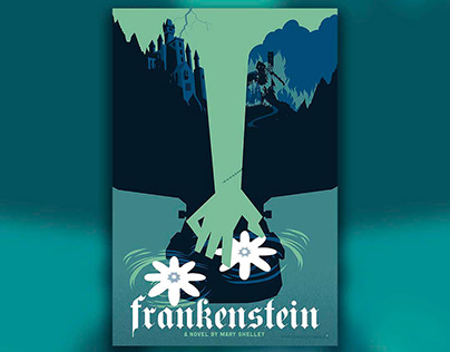 Frankenstein: A Novel by Mary Shelley