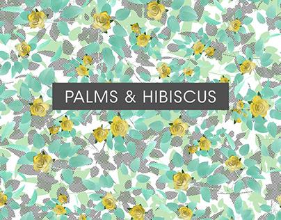 Palms & Hibiscus