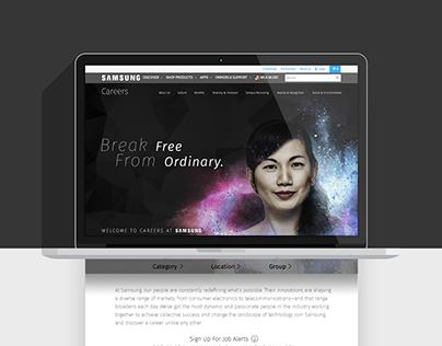 SAMSUNG: Break Free From Ordinary