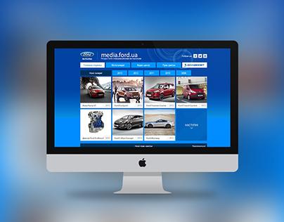 Media Ford website