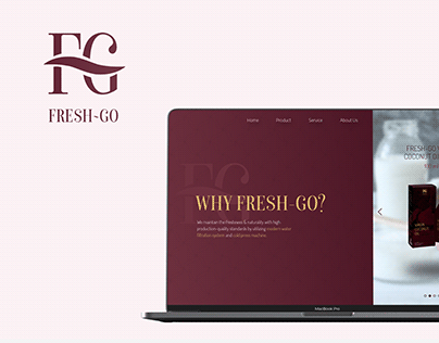 Fresh-Go - Landing Page Design