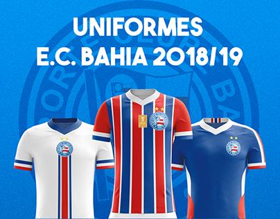 Uniformes Bahia 2018/19 - Conceitual