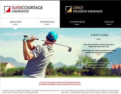 Suisscourtage Groupe - Monaco /webdesign
