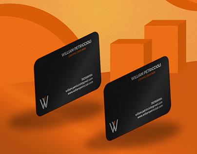 Branding project - William Petriccioli