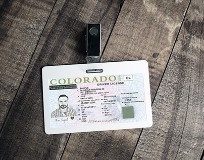 Driving Licence Design