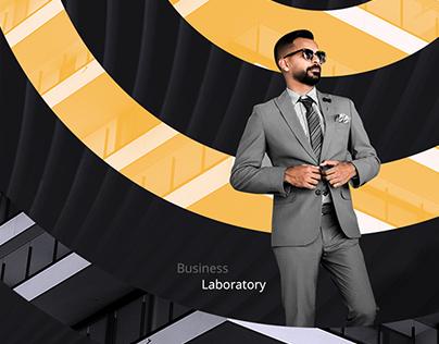 Business Laboratory Logo design