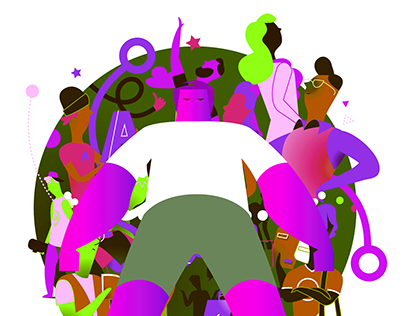 COLORS - Character design \ illustration.
