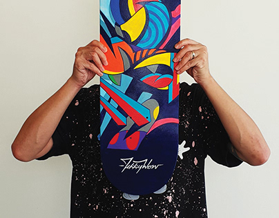 SHUT UP AND PAINT SK8