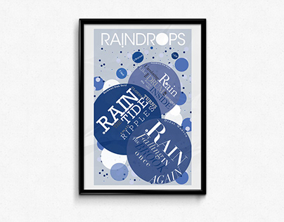 Raindrops(Large Print)