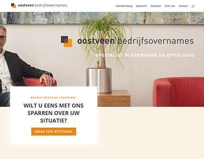 Website Oostveen Bedrijfsovernames