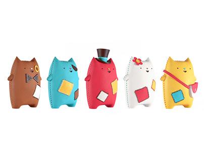 Oddcats! 3D Sculptures