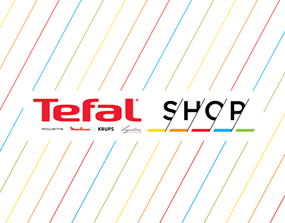 TEFAL Shop / identity and shop concept design