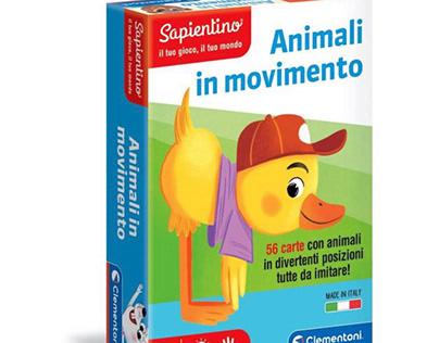 Animali in movimento - card game