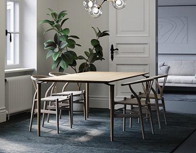 Kamphil Furniture - Table Series