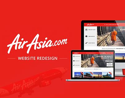 AirAsia.com Website Redesign