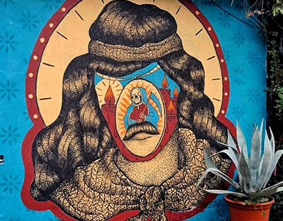 Mural of Gauchito Gil / Croatia