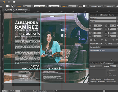 CV Alejandra R.