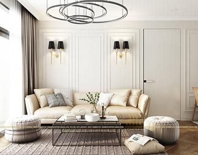 Thiết kế nội thất chung cư Skylake 09S3 - Anh Vũ