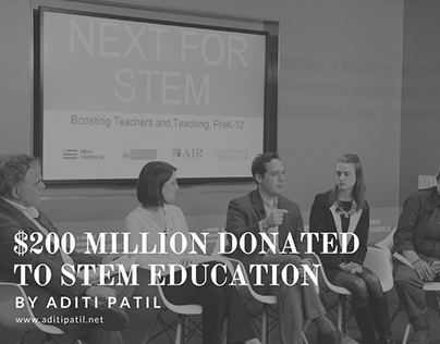 Aditi Patil | Donation to STEM Education