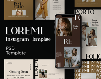 LOREMI Instagram Template