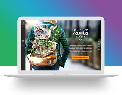 Laval First of its Class - Landing page & Campaign