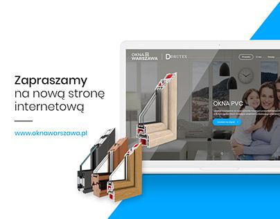 Strona www Okna Warszawa