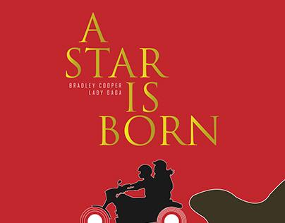 MINIMAL POSTER - A STAR IS BORN