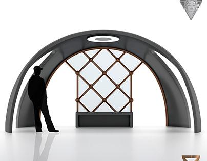 Hittite Sun Bus Stop Design