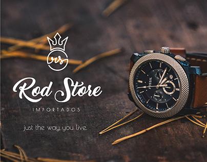 Rod Store Importados - Logo Design
