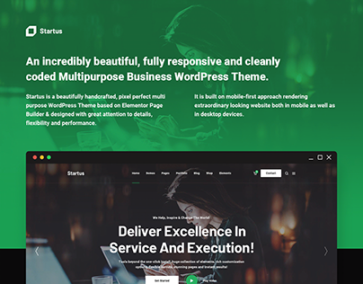Startus - Multipurpose Business WordPress Theme
