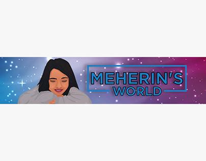 YouTube Custom Banner for Baby Girl Channel