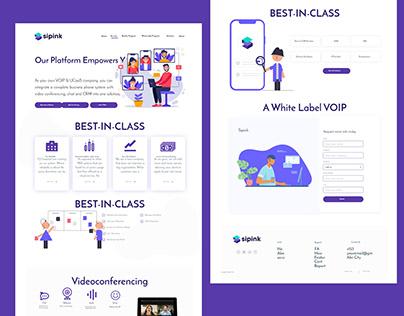 Website Ui Design & Develop