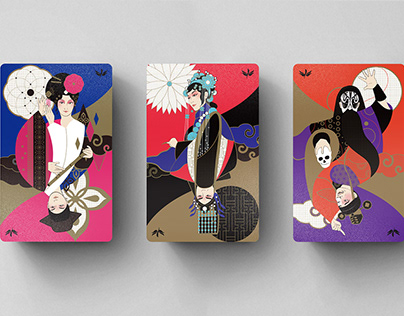 Membership Card Design for GuoGuang Opera Company
