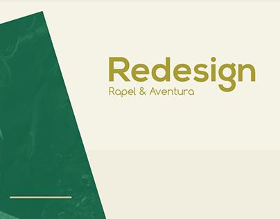 Redesign Rapel & Aventura