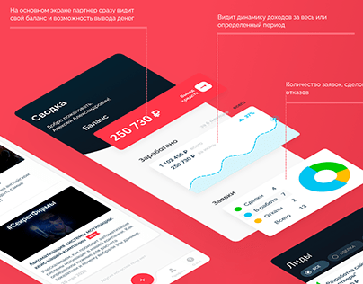 BrickCRM - приложение партнера