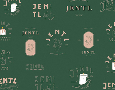 JENTL - handcrafted candles logo