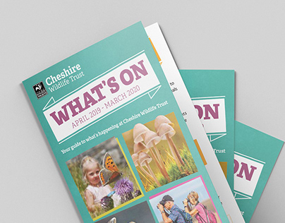 """""""What's On"""" Events Guide for Cheshire Wildlife Trust"""