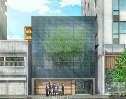 Study 09. Optical Glass House by Hiroshi Nakamura & NAP