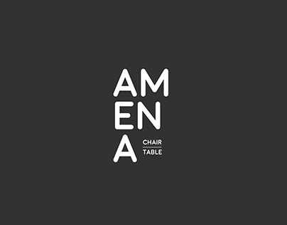 AMENA | Chair and Table