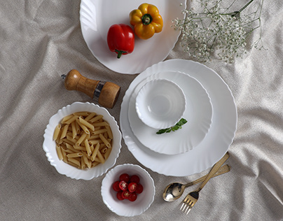 OPALWARE DINNER SETS