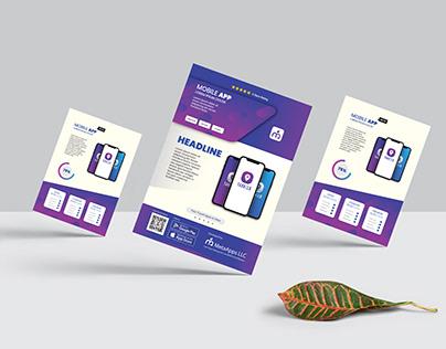 Mobile App Promotion Flyer / Brochure