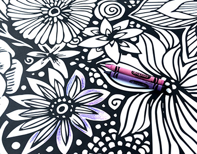Color-In Murals for Darice Crafts