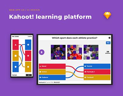 Kahoot! web app